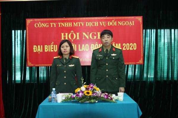 HỘI NGHỊ NGƯỜI LAO ĐỘNG CÔNG TY NĂM 2020